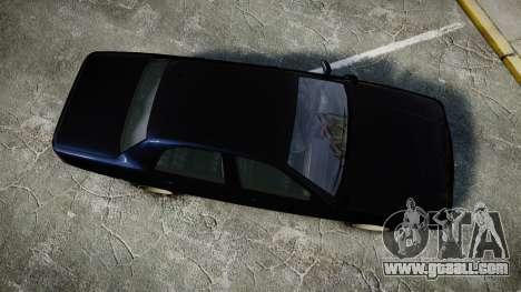 GTA V Vapid Cruiser Police Unmarked [ELS] Slick for GTA 4 right view