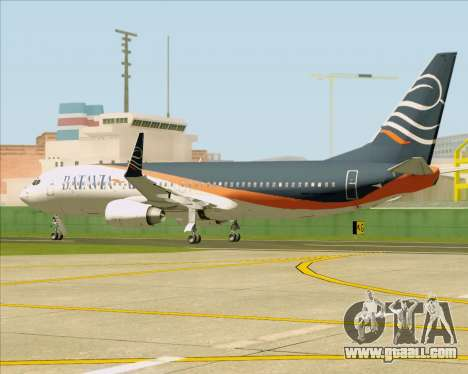 Boeing 737-800 Batavia Air (New Livery) for GTA San Andreas inner view
