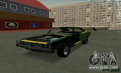 Dodge Charger HL2 EP2 for GTA San Andreas