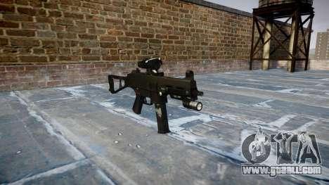 Gun UMP45 Ghosts for GTA 4