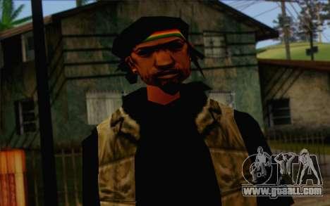 Yardies from GTA Vice City Skin 1 for GTA San Andreas third screenshot