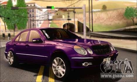 Mercedes-Benz E320 for GTA San Andreas