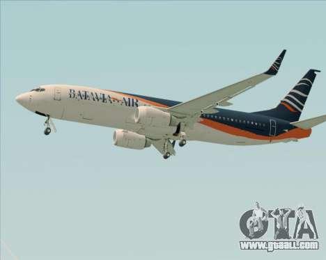 Boeing 737-800 Batavia Air (New Livery) for GTA San Andreas interior