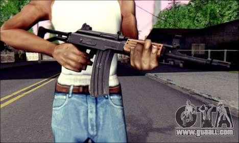 IMI Galil for GTA San Andreas third screenshot