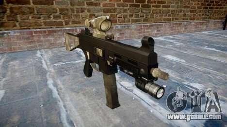 Gun UMP45 A army fans the leather AU for GTA 4