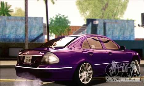 Mercedes-Benz E320 for GTA San Andreas left view