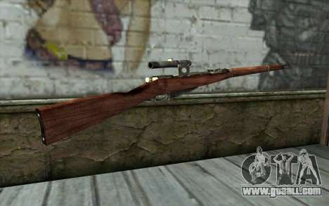 The Mosin (Battlefield: Vietnam) for GTA San Andreas second screenshot