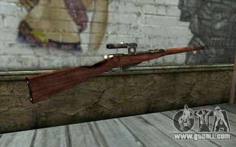 The Mosin (Battlefield: Vietnam) for GTA San Andreas second screenshot
