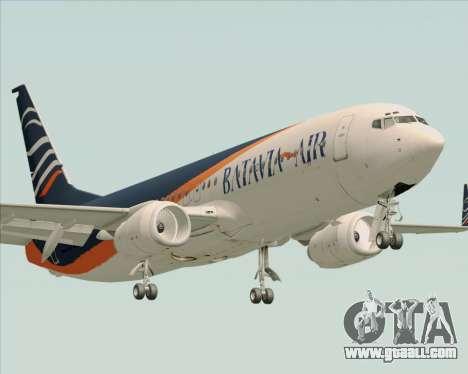 Boeing 737-800 Batavia Air (New Livery) for GTA San Andreas