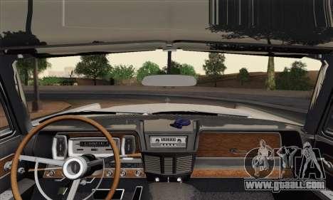 Lincoln Continental Sedan (53А) 1962 (HQLM) for GTA San Andreas back left view