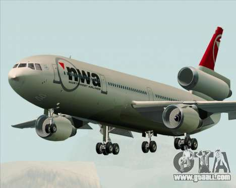 McDonnell Douglas DC-10-30 Northwest Airlines for GTA San Andreas