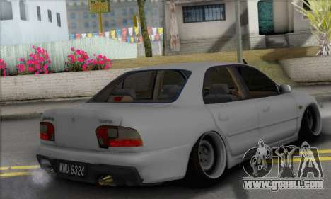 Proton Wira Slammed for GTA San Andreas left view