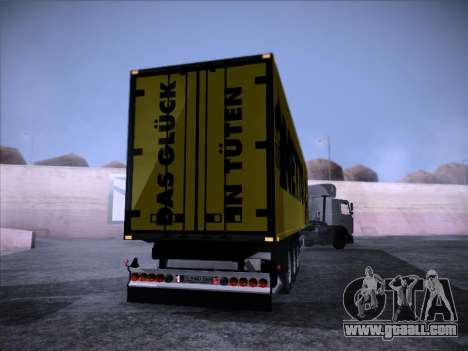 Trailer NETTO for GTA San Andreas left view