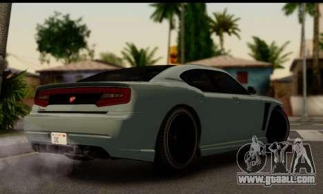 Bravado Buffalo S (IVF) for GTA San Andreas left view