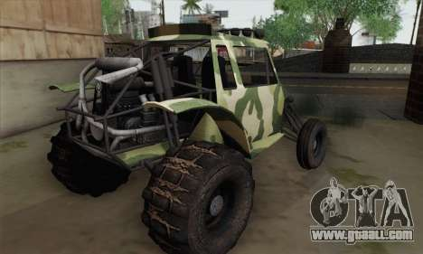 Military Buggy for GTA San Andreas left view