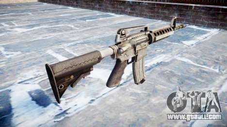 Automatic M4A1 carbine for GTA 4 second screenshot