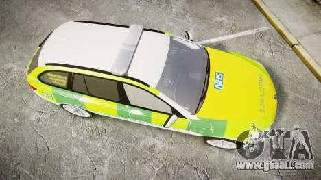 BMW 530d F11 Ambulance [ELS] for GTA 4 right view