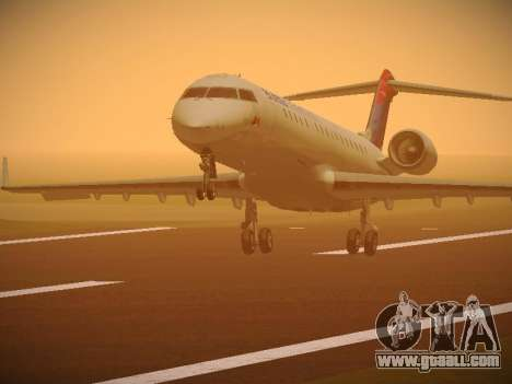 Bombardier CRJ-700 Delta Connection for GTA San Andreas