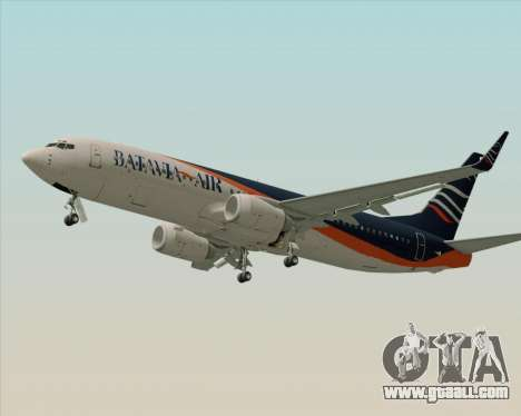 Boeing 737-800 Batavia Air (New Livery) for GTA San Andreas right view