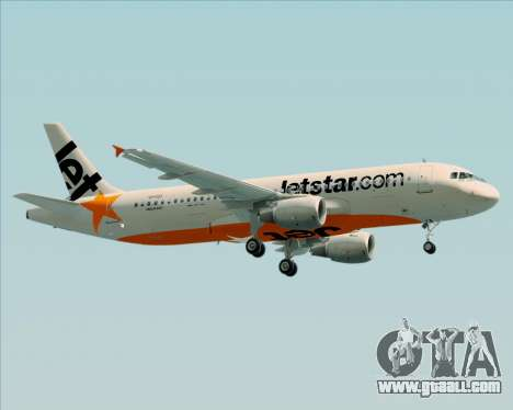Airbus A320-200 Jetstar Airways for GTA San Andreas inner view