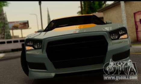 Bravado Buffalo S (IVF) for GTA San Andreas back left view