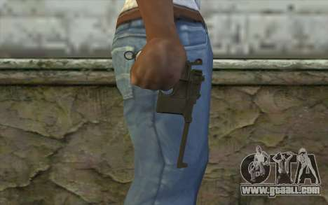 Mauser C96 v1 for GTA San Andreas third screenshot