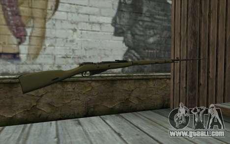 The Mosin-v11 for GTA San Andreas second screenshot