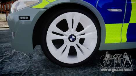 BMW 530d F11 Metropolitan Police [ELS] SEG for GTA 4 right view