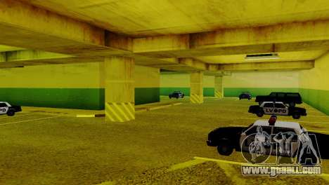New vehicles in the LVPD for GTA San Andreas forth screenshot