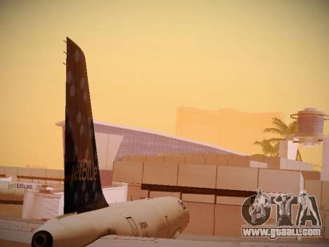 Airbus A321-232 Lets talk about Blue for GTA San Andreas side view