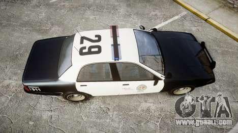GTA V Vapid Cruiser LSP [ELS] for GTA 4 right view