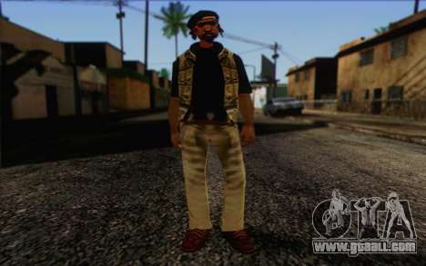 Yardies from GTA Vice City Skin 1 for GTA San Andreas