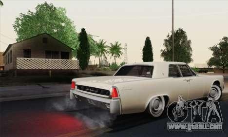 Lincoln Continental Sedan (53А) 1962 (HQLM) for GTA San Andreas right view