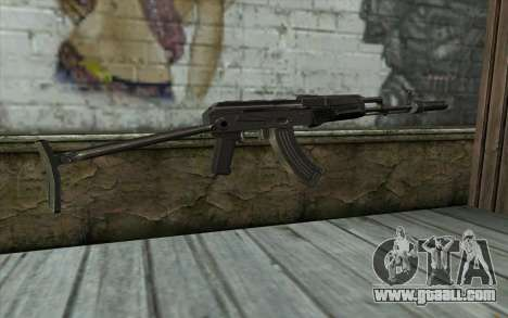 AKMS with CBE for GTA San Andreas second screenshot