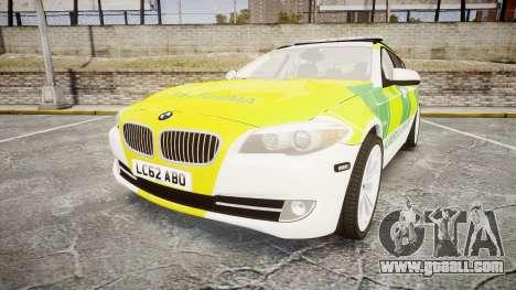 BMW 530d F11 Ambulance [ELS] for GTA 4