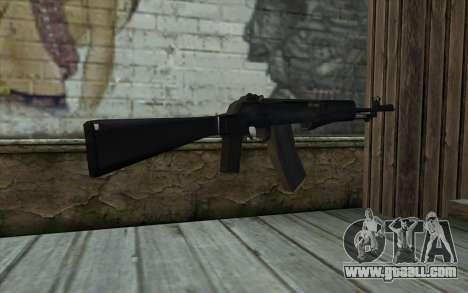 Machine Nikonov for GTA San Andreas second screenshot