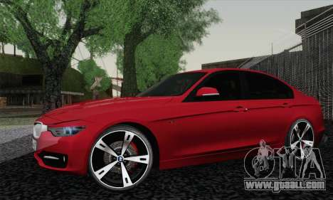 BMW 3 Series F30 2013 for GTA San Andreas