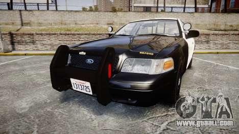 Ford Crown Victoria LASD [ELS] Slicktop for GTA 4