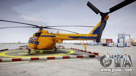 Mi-8 for GTA 4 back left view