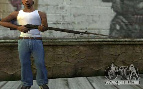 The Mosin-v10 for GTA San Andreas third screenshot