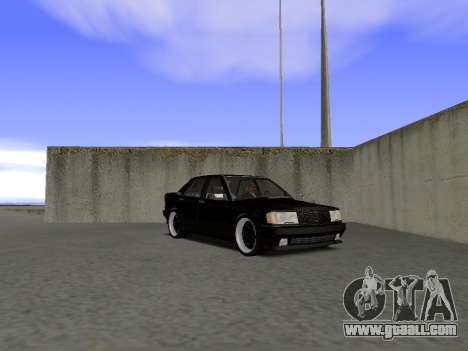 Mercedes-Benz 190E 3.2 AMG for GTA San Andreas right view