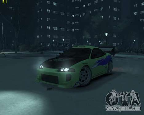 Mitsubishi Eclipse from Fast and Furious for GTA 4