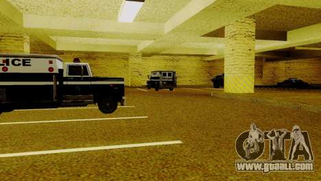 New vehicles in LSPD for GTA San Andreas sixth screenshot