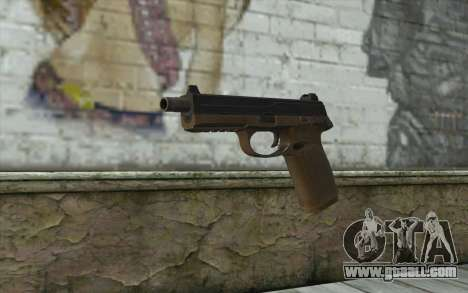 FN FNP-45 Without Muffler for GTA San Andreas