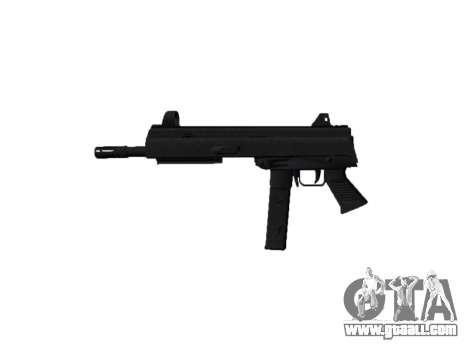 Gun SMT40 no butt icon2 for GTA 4 third screenshot