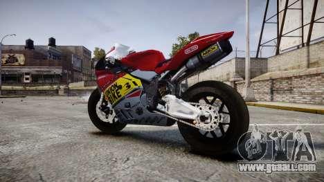 MV Agusta F4 for GTA 4 left view