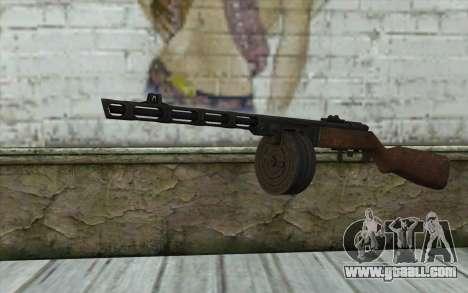 PPSH-41 v2 for GTA San Andreas