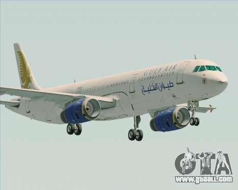 Airbus A321-200 Gulf Air for GTA San Andreas