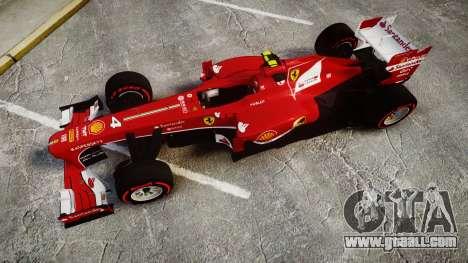 Ferrari F138 v2.0 [RIV] Massa TSSD for GTA 4 right view