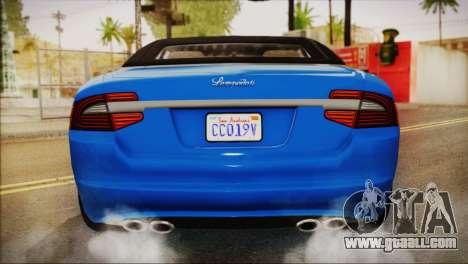 Lampadati Felon GT (IVF) for GTA San Andreas right view